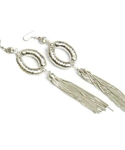 Alisha Metalic Earrings ER 8309
