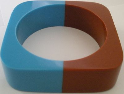 snazzy jazzy - DUO SQUARE BANGLE