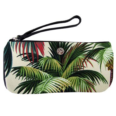 escape to paradise - PALM TREES FABRIC - HONOLULU CLUTCH