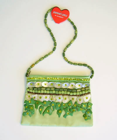 josephine's jewels - LIME EVENING BAG 181