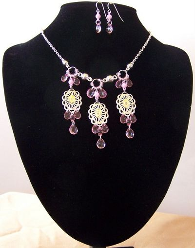 fashion jewellery pls -      ADELAIDE- 2 PIECE SET TN 403