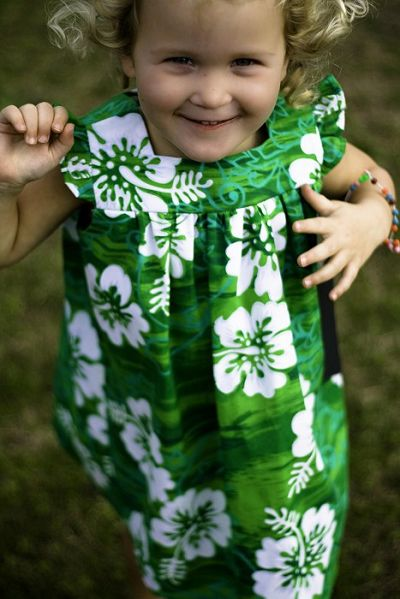 black eyed green - HIBISCUS DRESS