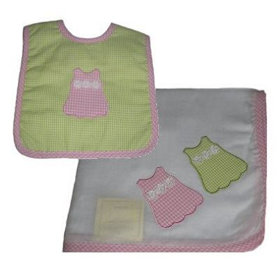 Alimrose Dress Wrap and Bib Set
