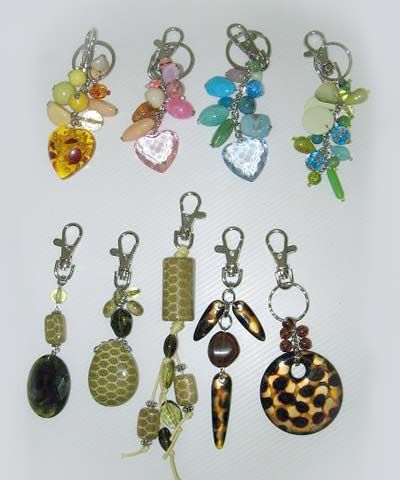 9 Pack of Assorted Key RIngs