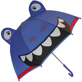 western chief - BLUE DINO UMBRELLA